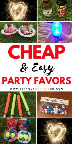 Cheap & Easy Party Favors for kids or adults! #budgetfriendly #diycrafts #momlife #party