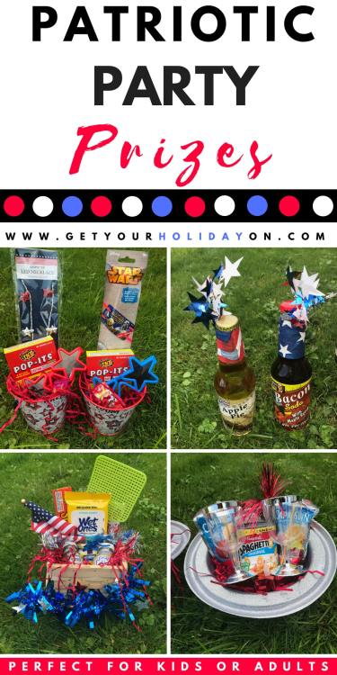 Ready to get your red, white, & awesome patriotic party favors to make on?! If you are ready to get star-spangled creative, we have you covered with these freedom free prizes! #diycrafts #partyfavors #usa #momlife