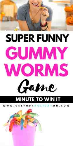 This Slurpin' for Worms Game isn't only perfect for a birthday party it can be used for many different occasions. It's one of those boredom busters for a rainy Saturday afternoon, after-school activity, Youth Group, a Halloween party, PTO party, indoor or outdoor activities, for Girl Scouts or Boy Scouts, or candy lovers in all. #play #party #diysummer #momlife