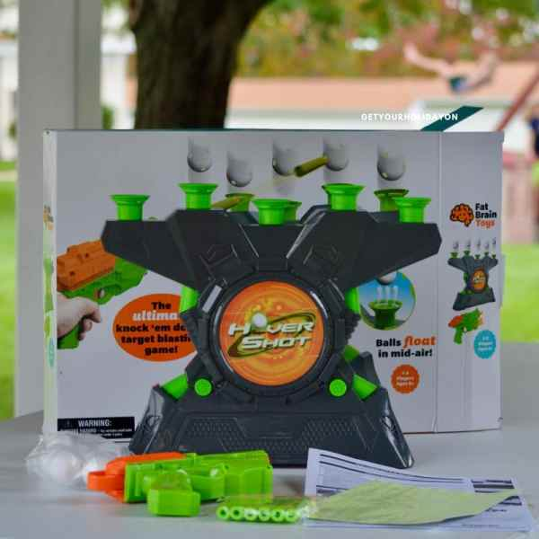 Saving you time on finding Challenging and Fun Family Games! First off did you know that the Glow-in-the-Dark Hover Shot 2.0 or Box & Balls game even existed? I personally didn't know until I partnered with Fat Brain toys! OMG are these games a ton of fun!  #momlife #fatbraintoys #toys #gifts