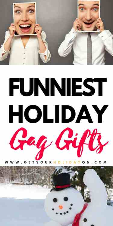 Where are my tricksters at? Do you like to share funny memes, joke novelties, or prank your friends and family? We have the funniest gag gifts to give out for Christmas! #pranks #gaggifts #funny #diyChristmas