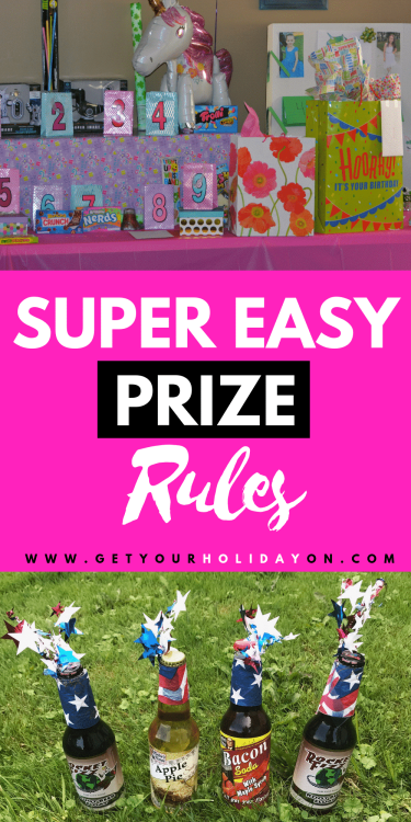 Ready for prize instructions that will blow your mind! These borderline genius ways to hand out prizes is a MUST SEE! #momlife #partyplanning #tips #diyparty