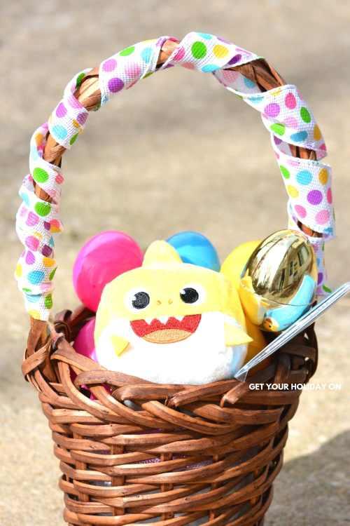 Baby Shark Toddler Easter Egg Basket #babyshark #shark #momlife #easterbasket