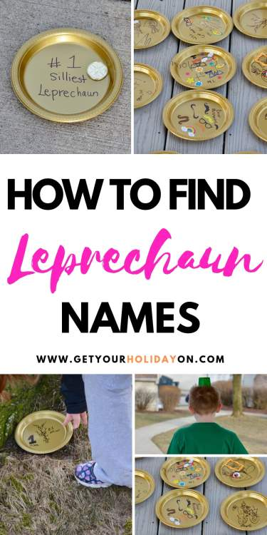 How to find Leprechaun names in this Hilarious Leprechaun Gold Game! #momlife #diycrafts #family #funny