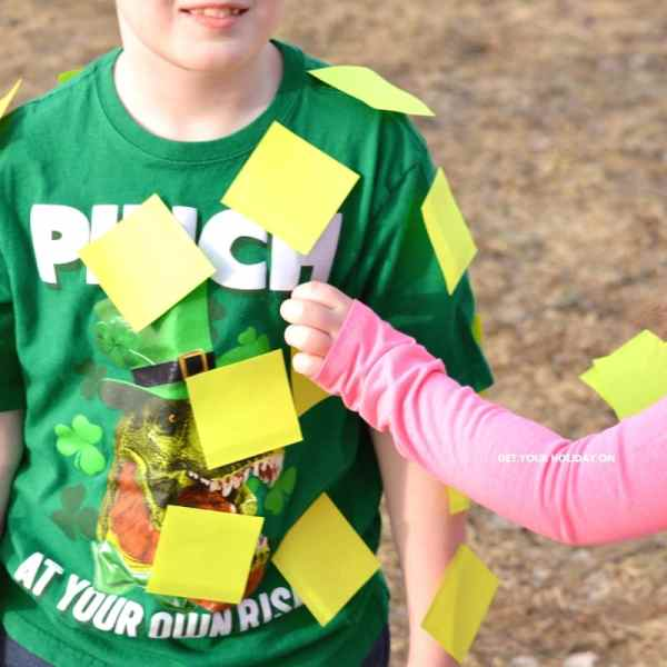 Learn how to play post a leprechaun game! An activity for kids or adults!