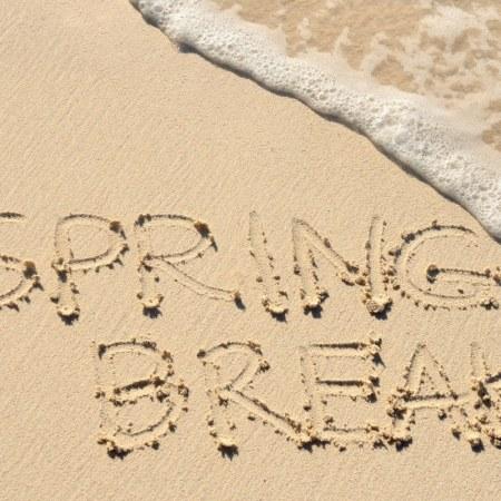 Spring break hashtags that will help share your pictures on social media! #twitter #instagram #spring #springbreak