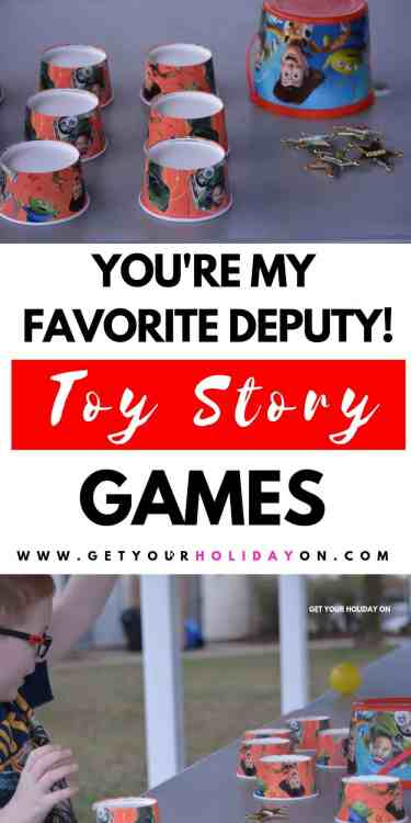 As you can tell we love Disney's Pixar Toy Story movie series! That's why we wanted to get the kids outside and play some backyard Toy Story games! #party #toystory #toystory4 #disney