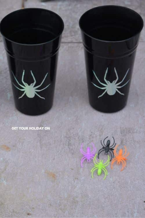 Spider craft ideas that turn into fall halloween game ideas!