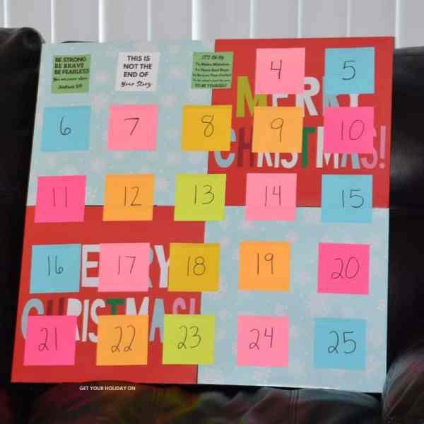 DIY Homemade Advent calendar