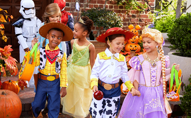 Halloween costumes for kids and adults
