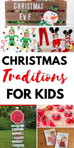 Earn mom of the year with these Christmas traditions for kids! #diys #crafts #momlife #Christmastraditions