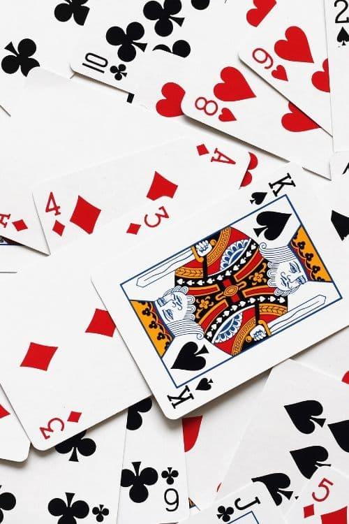 Deck of Cards Christmas Exchange Game idea. #cards #Christmascards #play #party