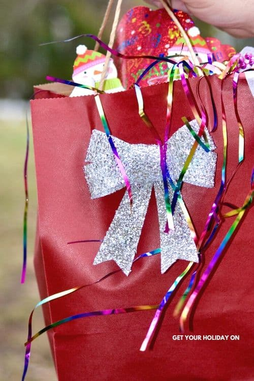 Countdown New Years eve bags for kids!