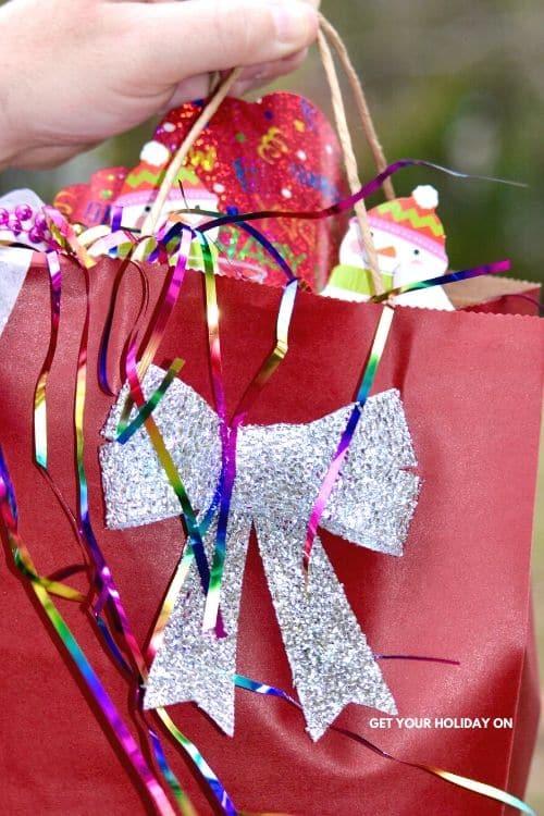 Countdown favor bags for kids! #momlife #crafts #diys