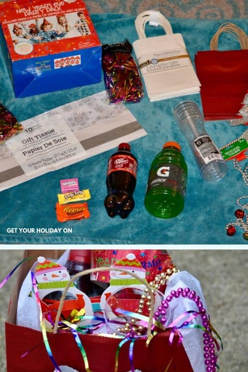 Countdown ideas for kids party bags
