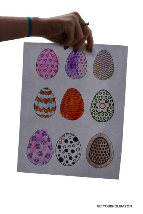 Coloring Sheets for Easter Crafts or Projects for kids!