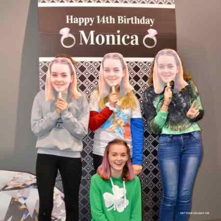 14th Birthday party ideas for teen girl with a diamond theme idea.