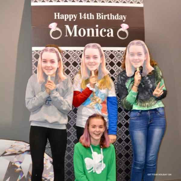 14th Birthday party ideas for teen girl with a diamond theme idea.