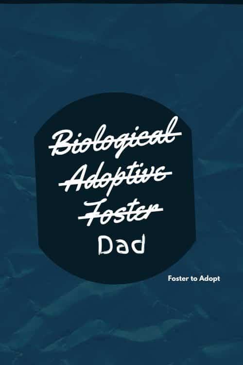 Foster dad card #fostercare #fosterdad #fosterparent #adopt