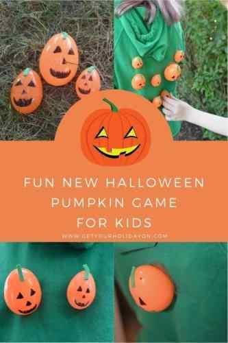 Best pumpkin game idea for kids!