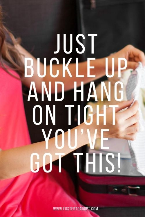 Just buckle up and hang on tight you've got this!