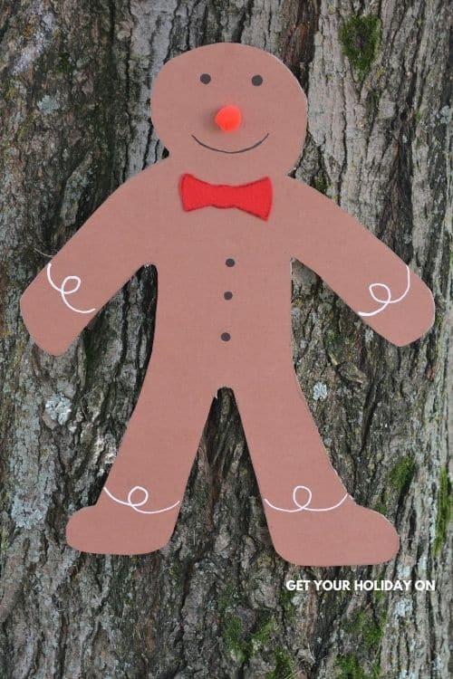 gingerbread man crafts kindergarten ideas.