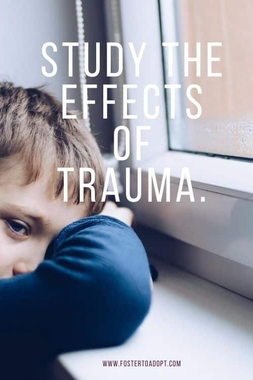 Study the effects of trauma.