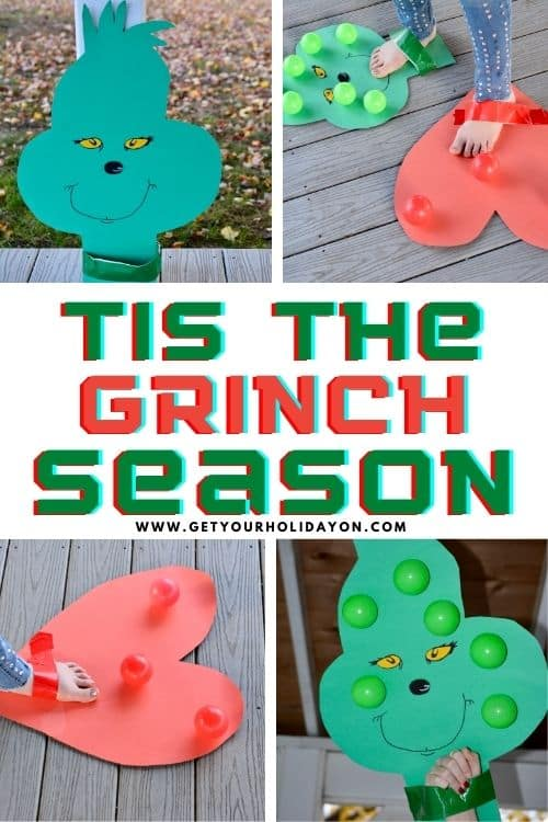Tis the Grinch season with party games for kids and adults.
