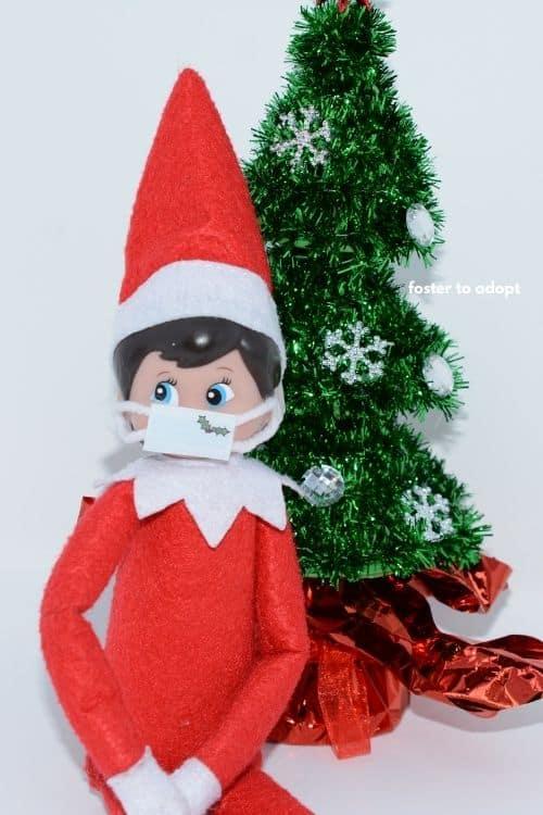 elf on the shelf mask.