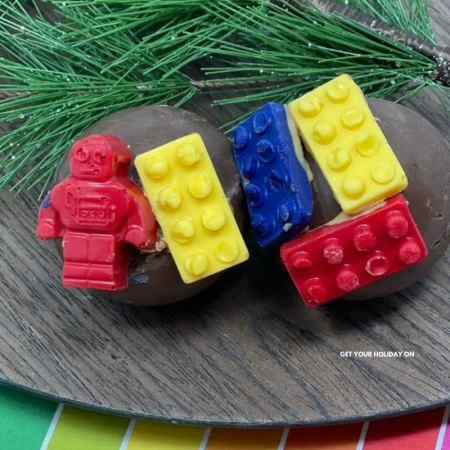lego hot chocolate bombs