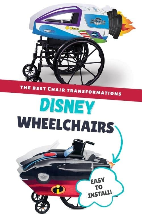 Wheelchair wheel covers for kids with a fun theme. This theme is a Cinderella carriage that will be placed around the wheelchair giving the child a sense of feeling like a Princess.