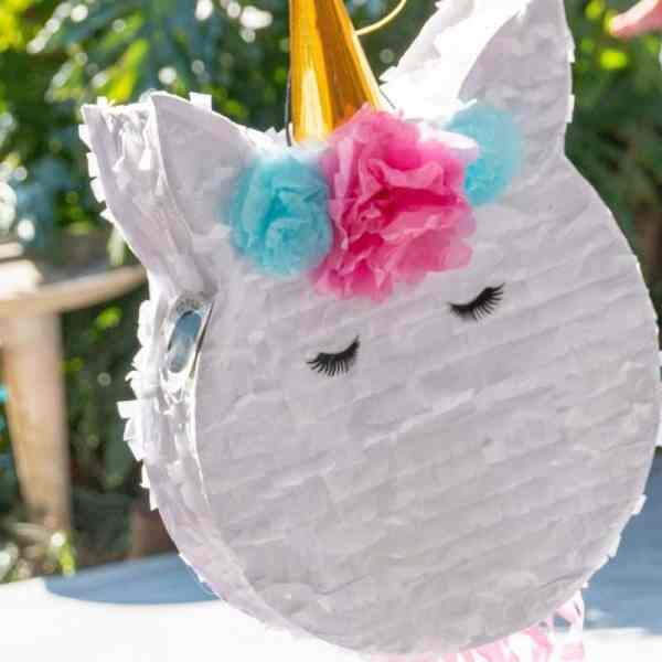 Unicorn pinata learn the best ways to make a pinata. It could be out of a cereal box, cardboard box, or balloon.