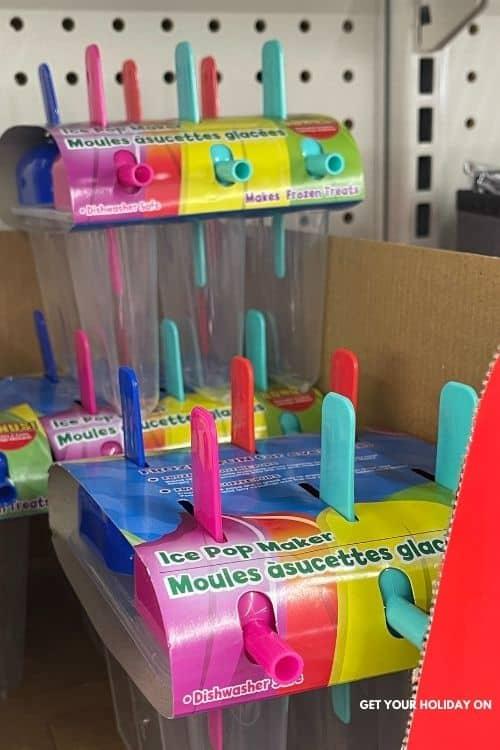 ice pop maker prize.