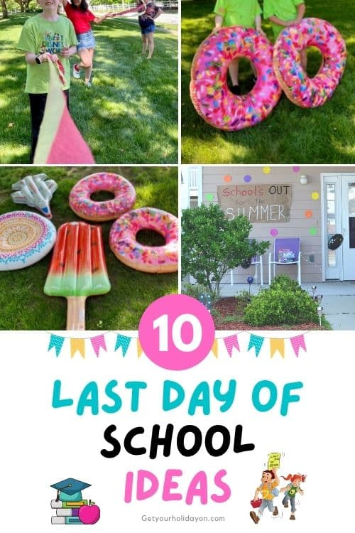 Last day of school ideas to celebrate the end of the school year.
