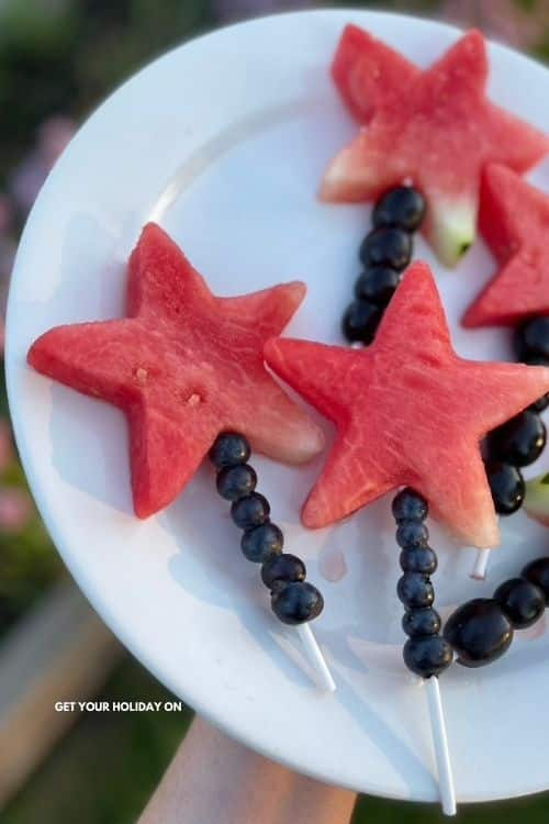 It turns into a Watermelon Star Wand or a watermelon fruit wand whichever you prefer.