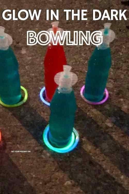 glow in the night bowling