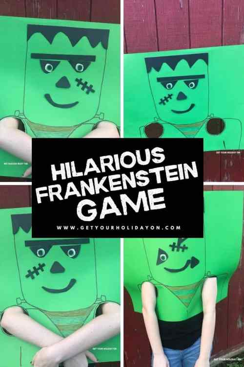 hilarious Frankenstein game for halloween.