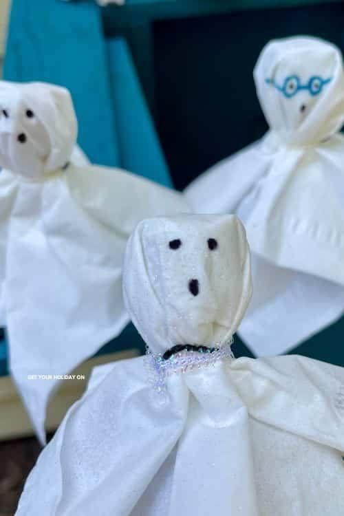mini ghost for halloween.