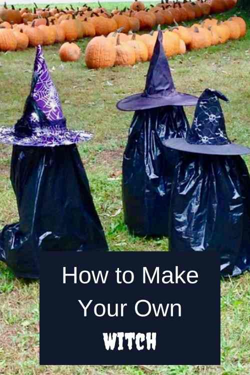 Teach someone how to make own witch.