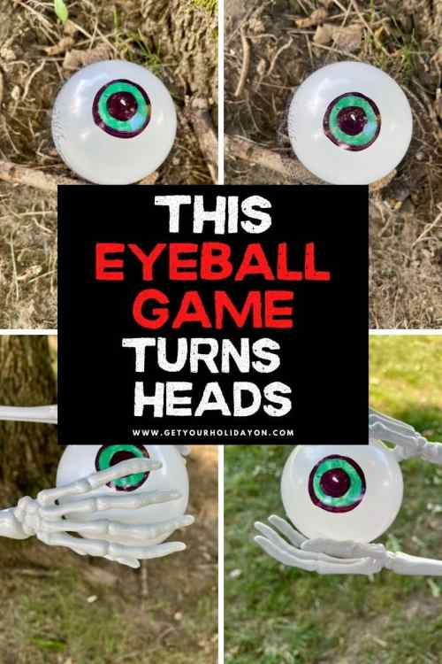 Carry the eyeball across the field using Skelton's hands try not to drop or pop it or you'll be out.