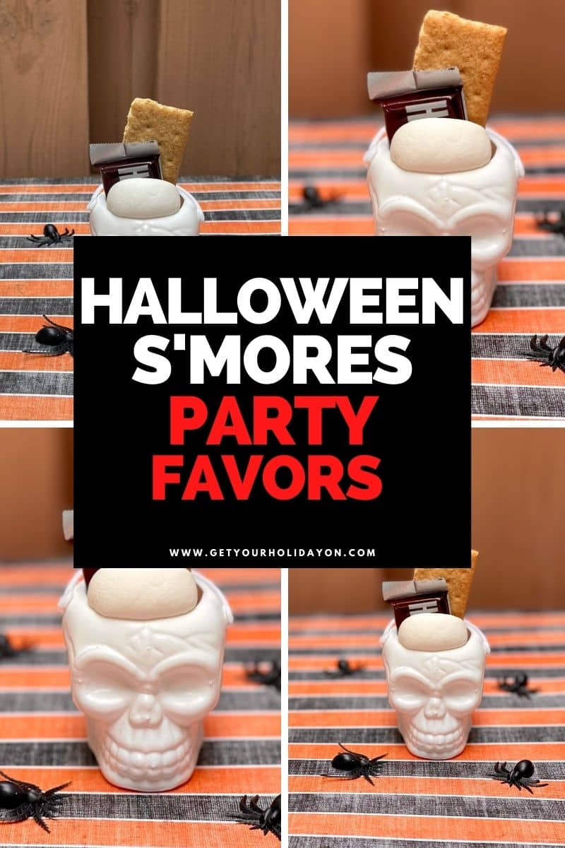 halloween smores party favors