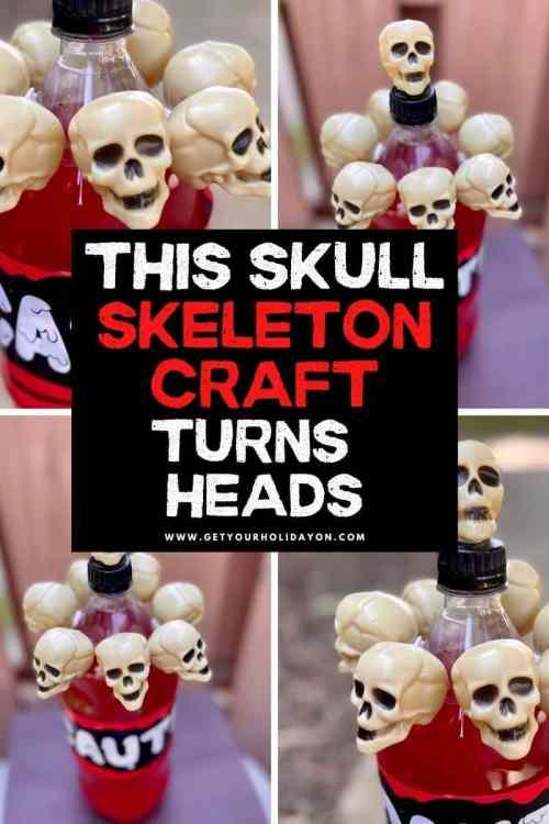 skull skeleton craft gift idea