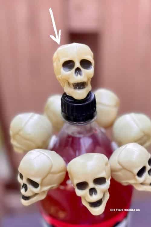 Skelton head diy for halloween