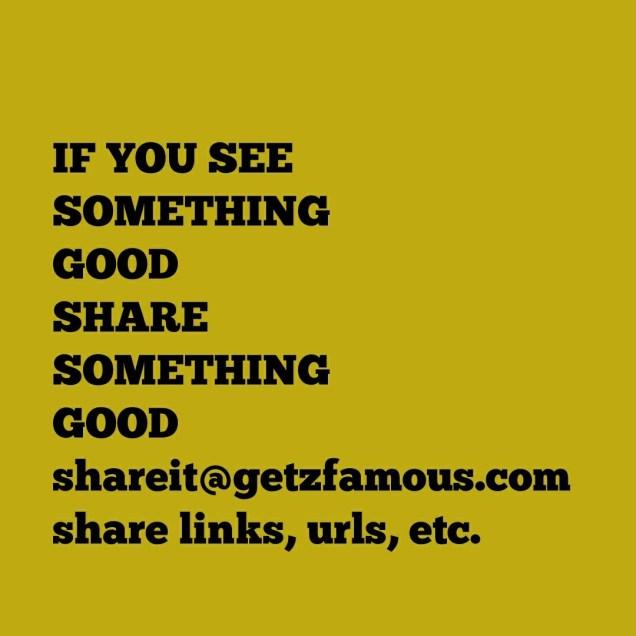 Share Something, something good