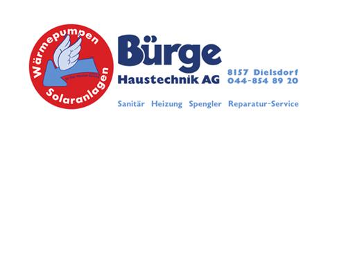 CO-HAUPTSPONSOR Bürge Haustechnik AG