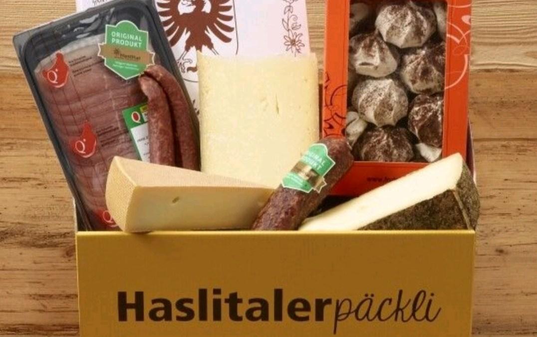 Willkommen beim Haslitaler Päckli – das Beste aus dem Haslital in einem Päckli!
