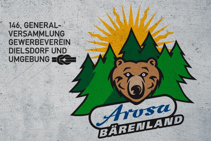 """Arosa Bärenland """"meets"""" GV Gewerbeverein Dielsdorf und Umgebung"""