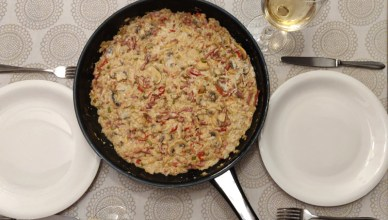 Risotto met room