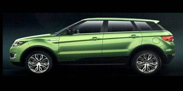 (Range Rover Evoque'u takliti LandWind X7)