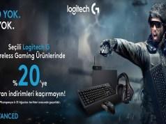 Logitech'ten Oyunculara Sürpriz: %20'ye Varan İndirimler